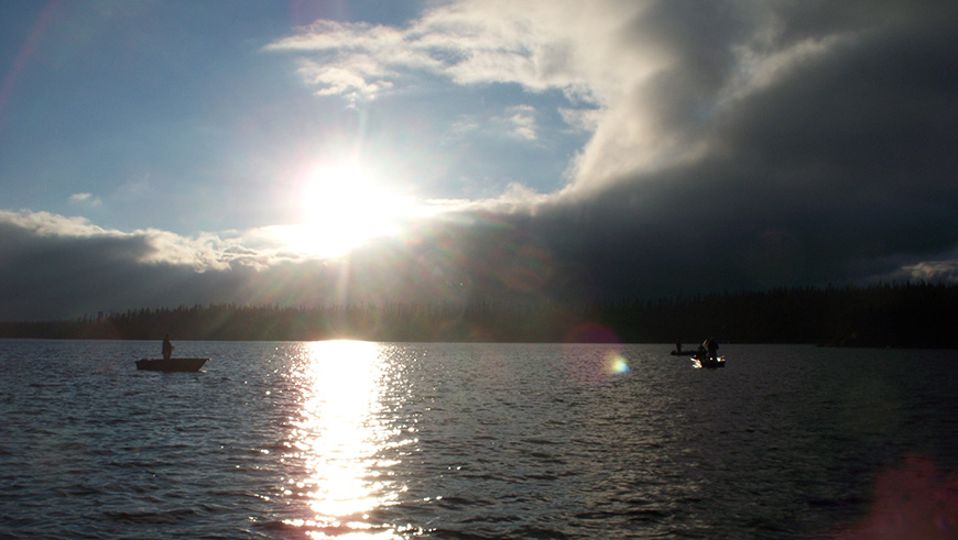 Walleye And Pike Fishing On Impossible Lake Caesar S