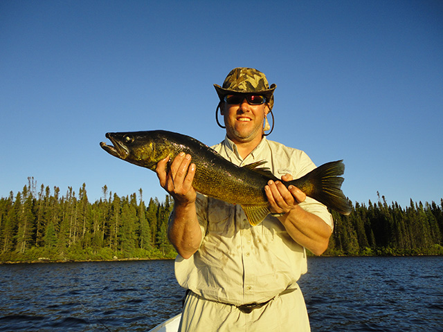 The 2nd place at Caesar's North Camps Fishing Trophy Canadian-Fly-Fishing-Trophy-Contest-2014-003