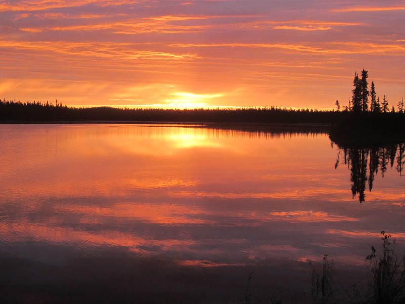 Sam Thaw sunset