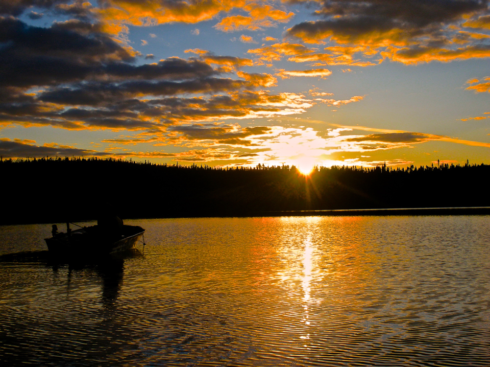 Our Winner !! Fishermen's sunset by Tera Anderson