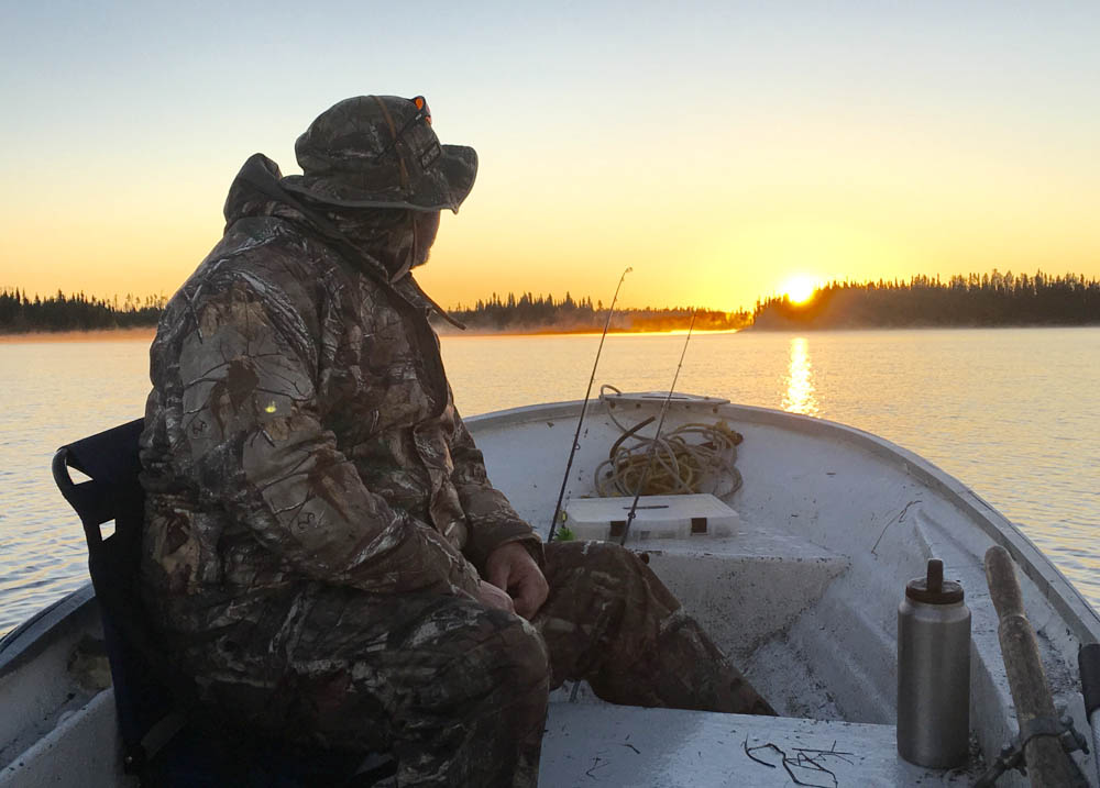2nd place - Gr.Ward Butler morning fishing