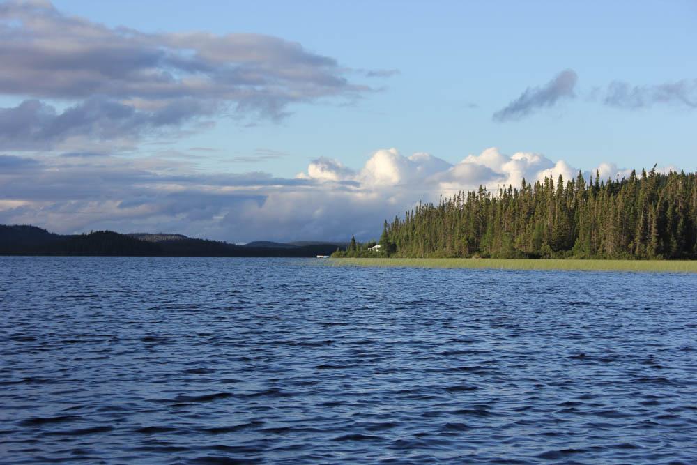 Kristen Pettit view from Lake Larouche