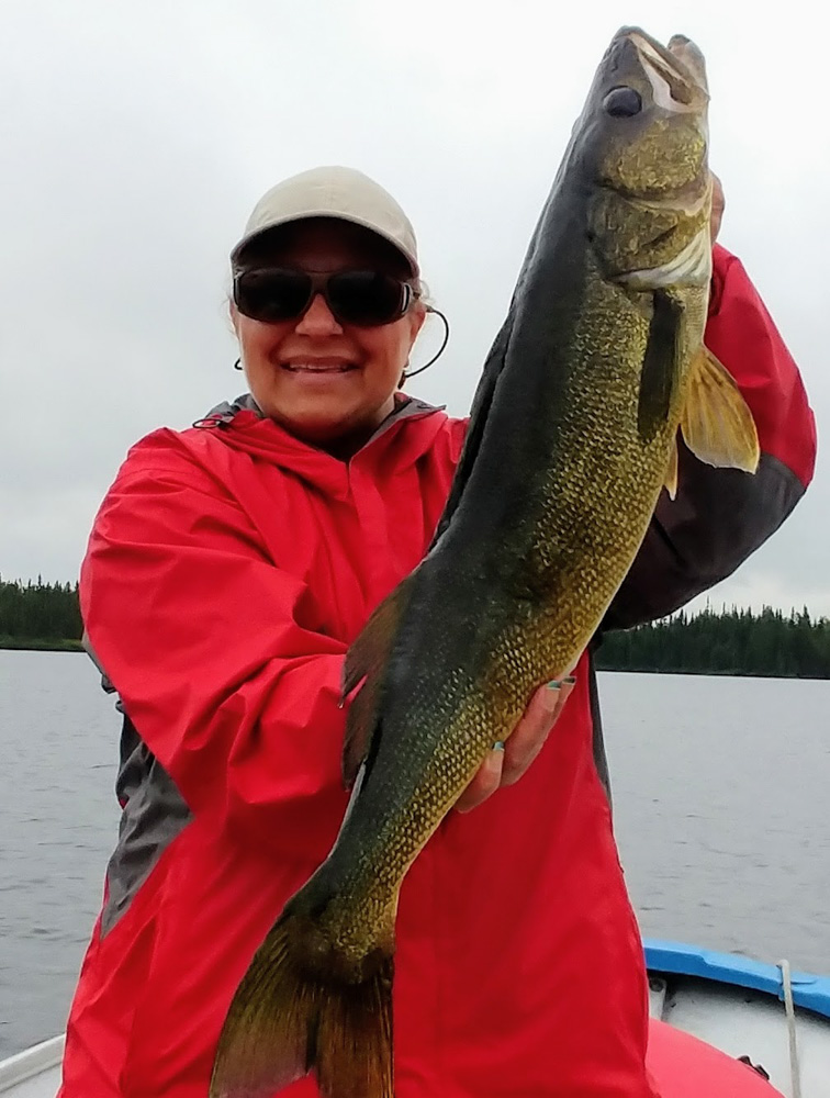 Joanne's 30 inch Walleye