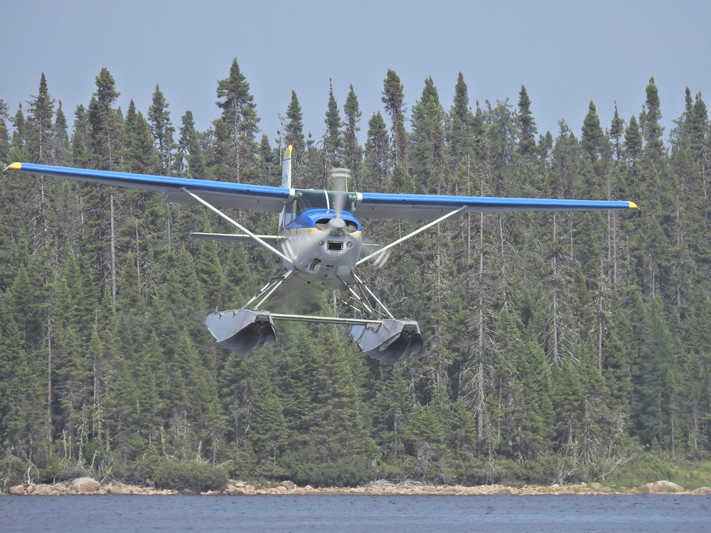 The Cessna landing by John Romano