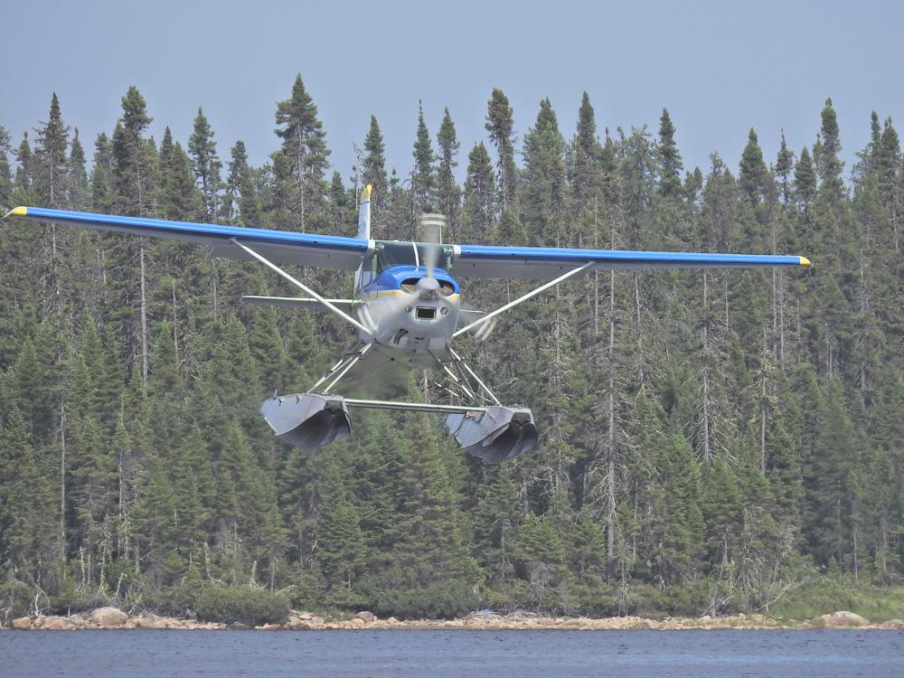 The Cessna landing by John Romano